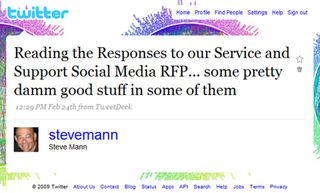 AbleBrains: Twitter for Business: Managing The SAP RFP Process